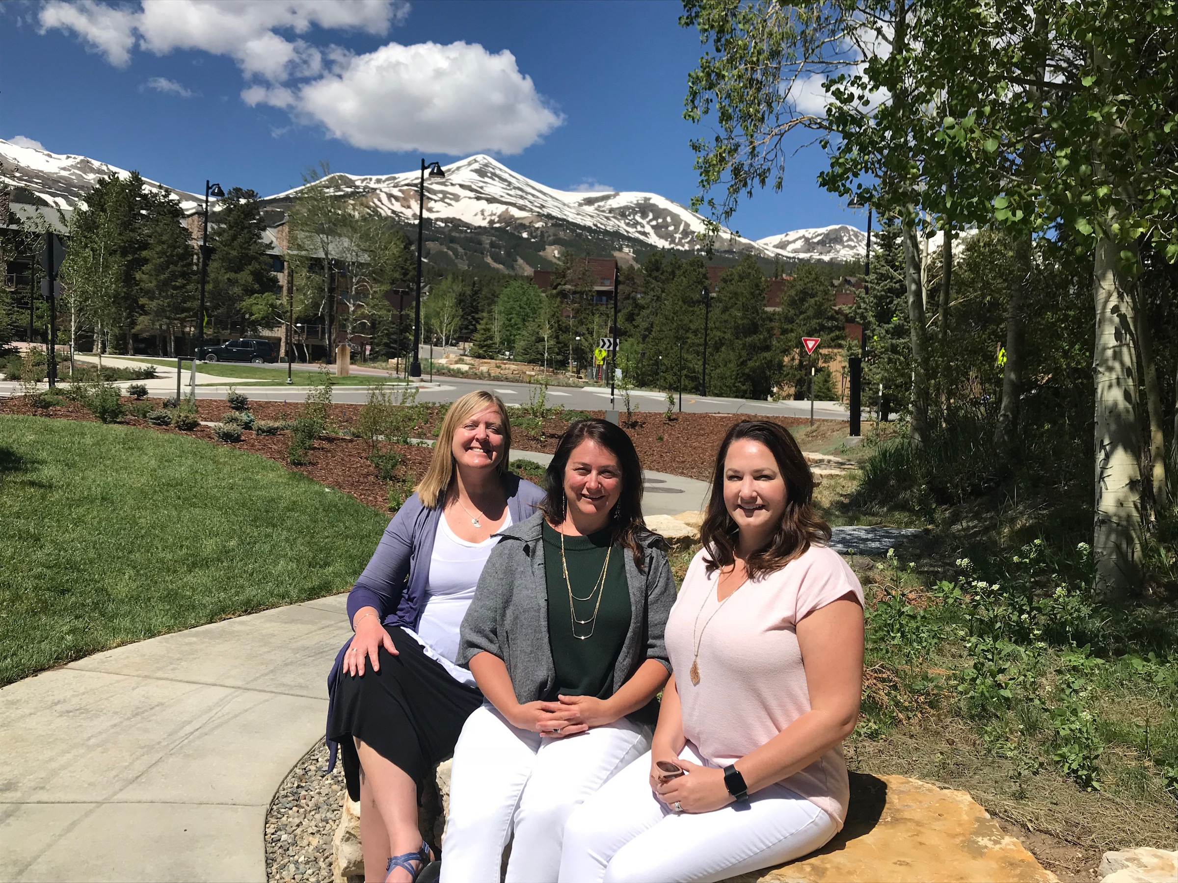 anna faulk and team incline business essentials breckenridge